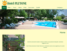 Tablet Preview of hotelplutone.it